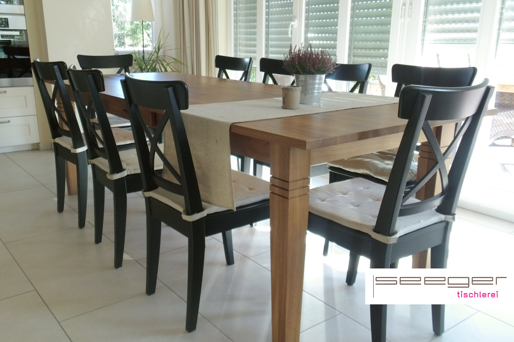 Tischlerei seeger design und funktionm bel aus dinklage for Esszimmer tische vollholz